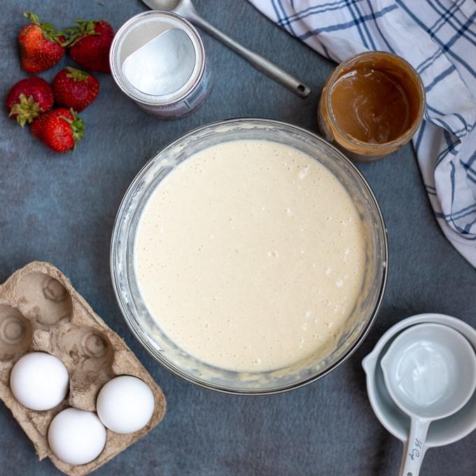 Peanut Butter Pancake Batter