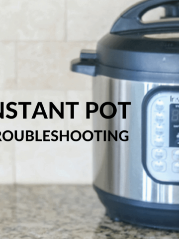 Picutre of Instant Pot with Title Text Overlay
