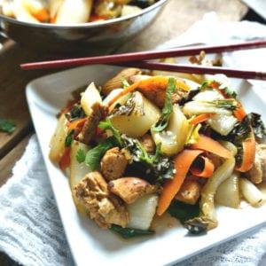 Easy Bok Choy Stir Fry