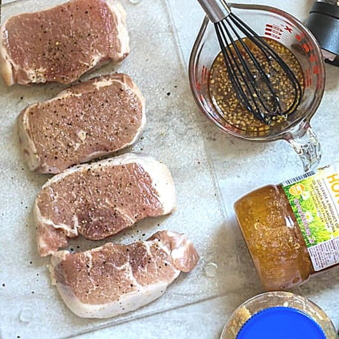 Ingredients for Pork Loin Chops
