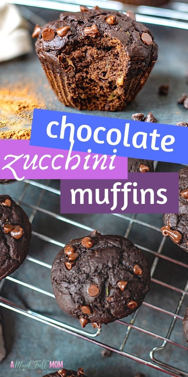 Chocolate Zucchini Muffins are packed with zucchini and double the chocolate for a muffin that tastes like dessert, yet healthy enough for breakfast. These Healthy Chocolate Zucchini Muffins are made with whole grains, refined sugar free, and packed with zucchini, yet are still super soft, tender, and most importantly, delicious!