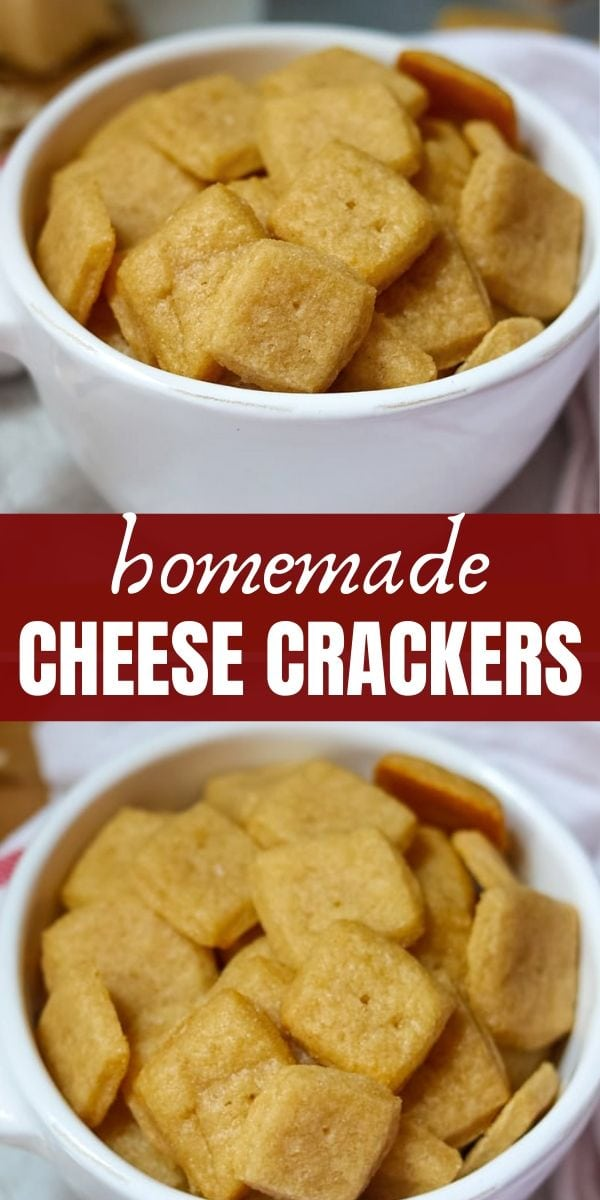 Homemade Cheese Crackers are an easy DIY recipe. This recipe for Copycat Cheez-It Crackers is made with only a handful of ingredients that creates a wholesome snack that your entire family will enjoy! If you or your kids love Cheez-Its, this homemade version is a must-try. It is a simple process and the results are spot on!