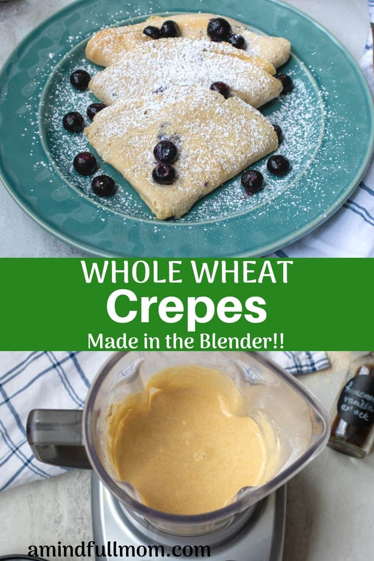 Making Homemade Crepes is easier than you think! Follow these simple step by step directions for light and tender crepes every single time.