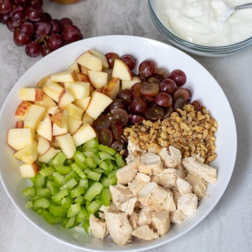 Healthy Waldorf Chicken Salad A Mind Full Mom