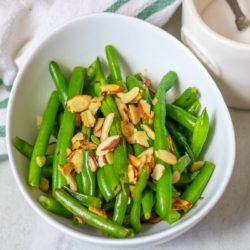 Easy Green Beans Almondine Recipe