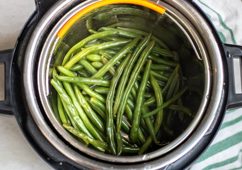 Green Beans in Pressure Cooker