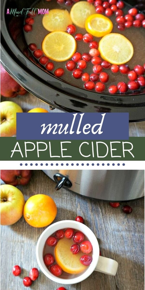 Mulled Apple Cider is the absolute perfect fall beverage! Made with fresh oranges, cranberries, and spiced with cinnamon, ginger, and nutmeg, this recipe for Homemade Mulled Cider is better than any packaged blend of mulling spices and just as easy to make! You can prepare this Mulled Cider in the slow cooker, Instant Pot, or on the stove-top.