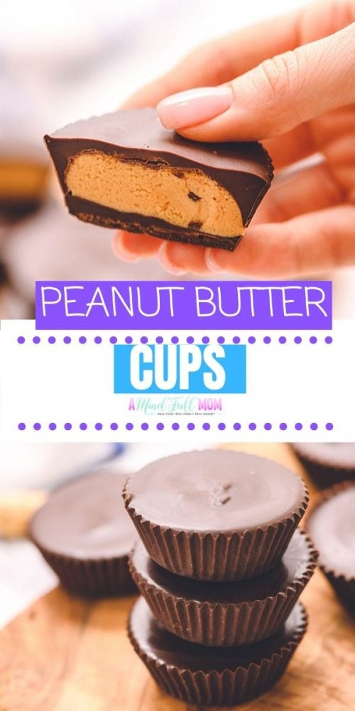 The BEST EASY homemade peanut butter cup recipe! This is the ultimate dessert for any serious peanut butter chocolate lover! These Copycat Reese Cups are super easy to make and SO delicious to enjoy! Dairy free option as well!