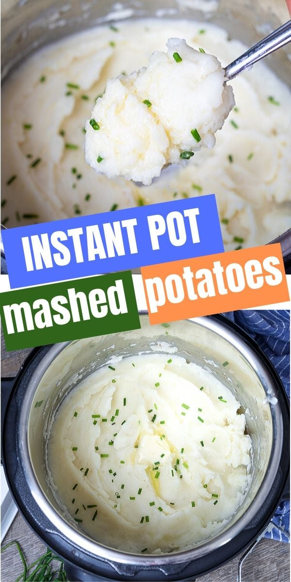You won't believe how easy it is to make creamy, fluffy mashed potatoes right in your pressure cooker! These Instant Pot Mashed Potatoes are EVERYTHING you crave in buttery mashed potatoes. This recipe makes the perfect side dish!