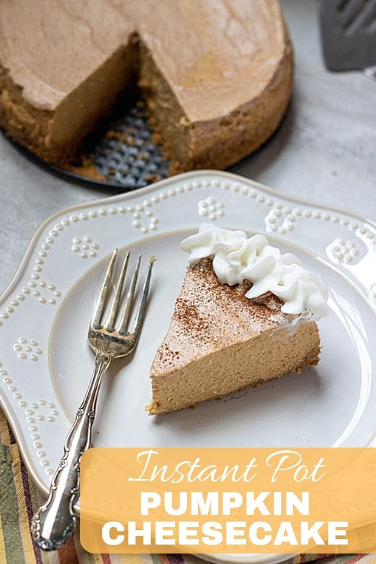 If you are looking for the recipe to impress, this Instant Pot Pumpkin Cheesecake is it! Made with a gingersnap crust and creamy pumpkin filling, this Instant Pot Cheesecake makes a perfect holiday dessert.