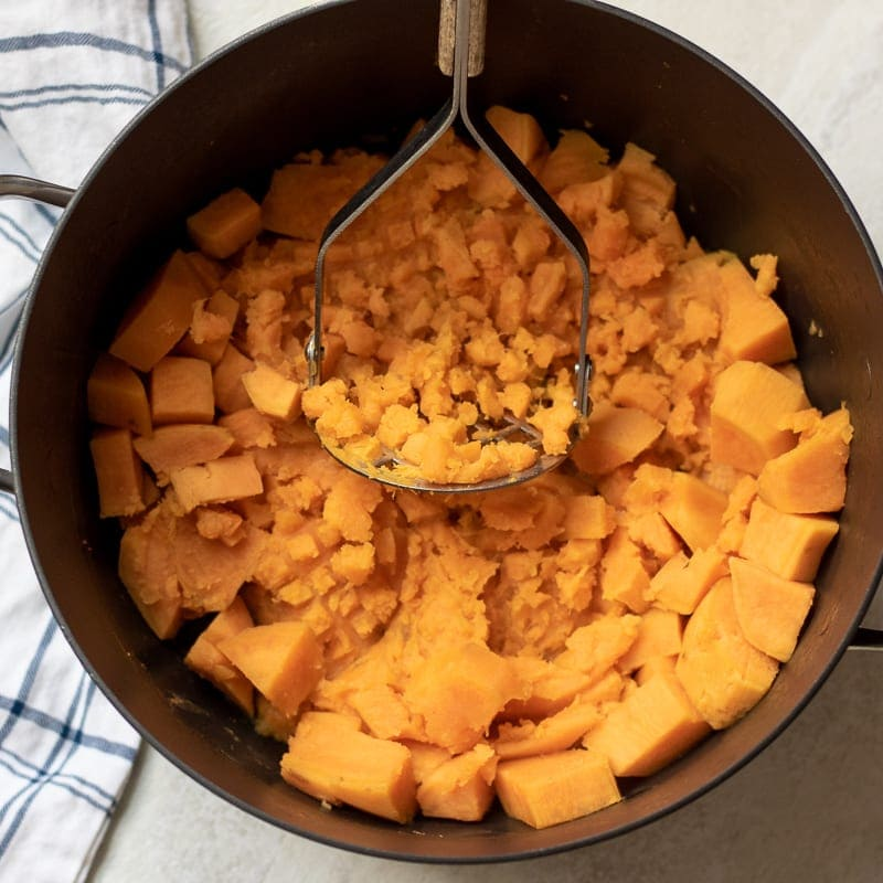 Easy & Healthy Mashed Sweet Potatoes