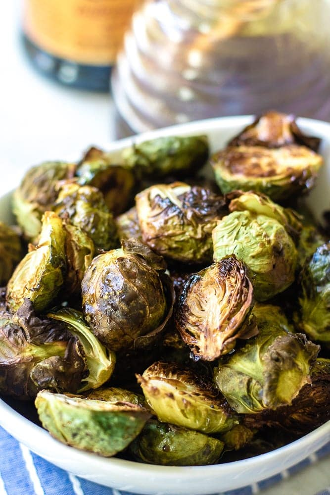 Bowl of Balsamic Brussel Sprouts