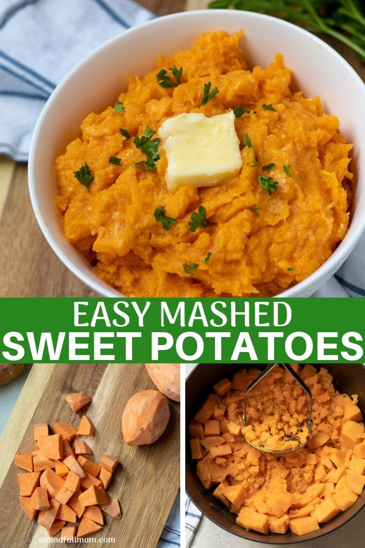 Easy Recipe for Mashed Sweet Potatoes