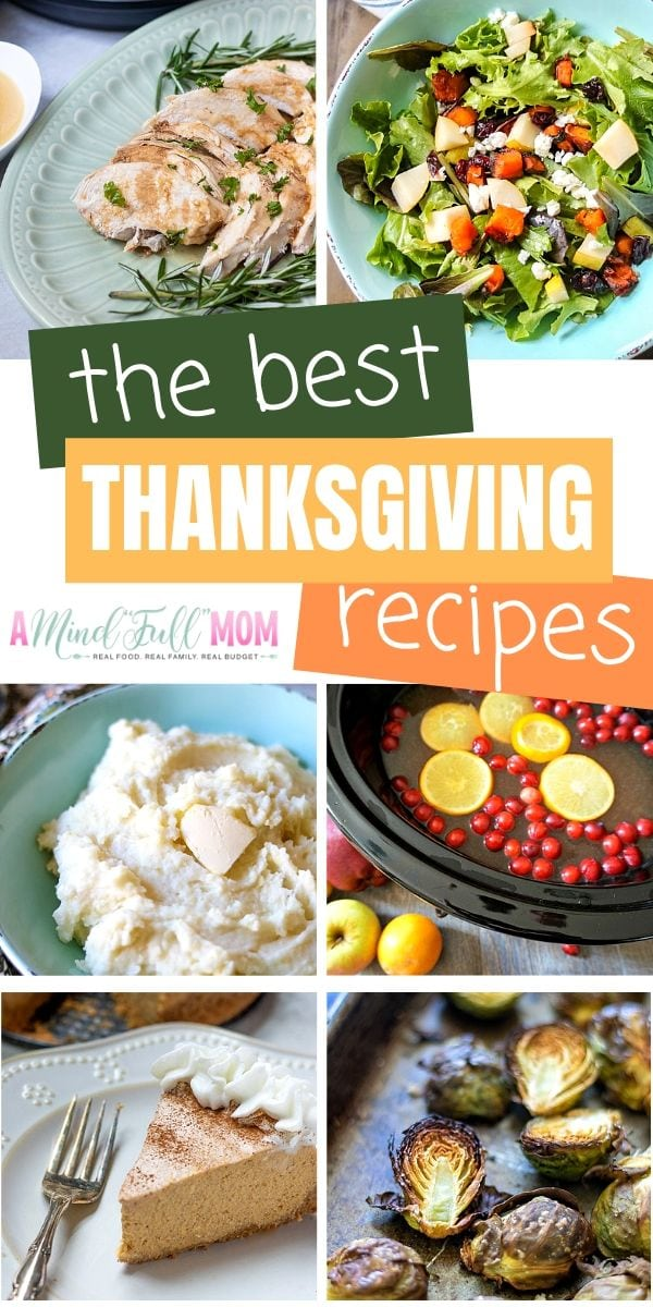 Create a perfect holiday feast with these Easy Thanksgiving Recipes! From turkey, to salads, to sides, to desserts, these easy Thanksgiving dishes are everything you need to make your Thanksgiving Dinner complete!