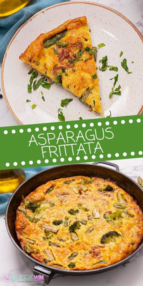 This is the BEST FRITTATA! Made with fresh spring vegetables, bacon, and creamy eggs, this frittata is easy to make,  versatile and allergy-friendly. Perfect for a holiday breakfast, brunch, or light lunch.