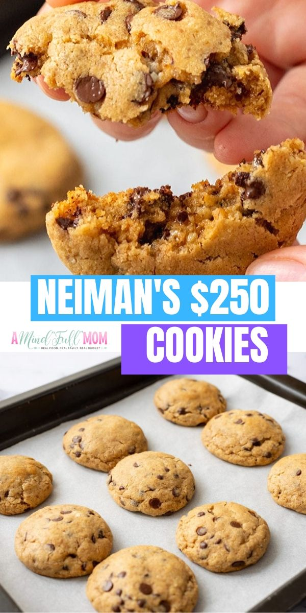 This is the AUTHENTIC recipe for Neiman Marcus Cookies! It is rumored that the Neiman Cookie recipe sold for $250! After one bite, you will believe these cookies were well worth the price! A chocolate chip oatmeal cookie made with 3 types of chocolate, blended oats, and blended walnuts--this is the BEST version of a chocolate chip cookie EVER! It is a must have Christmas cookie--but is perfect all year long!