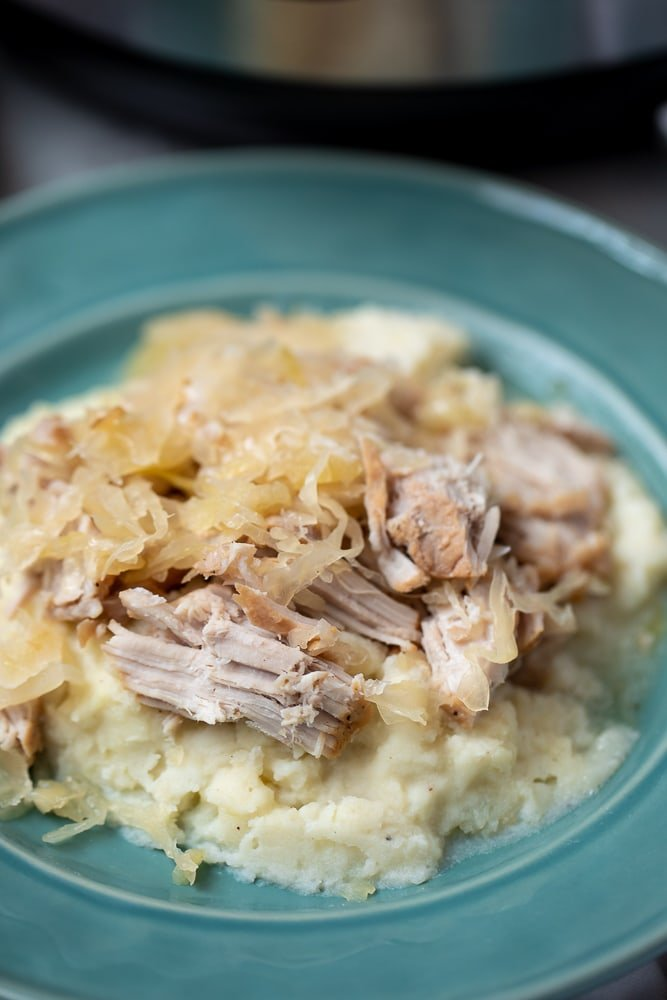 Instant Pot Pork And Sauerkraut A Mind Full Mom
