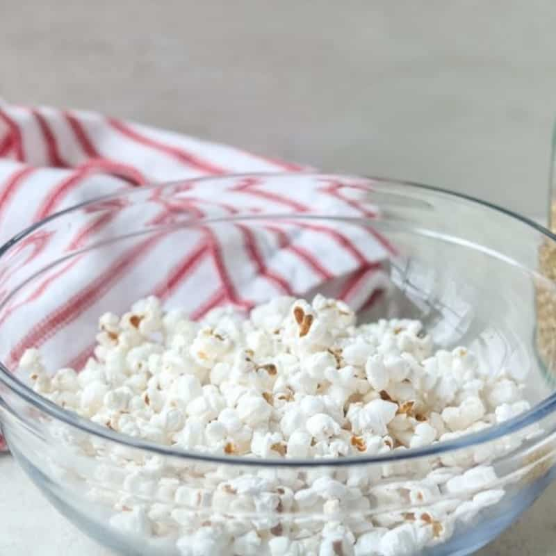 Healthy Homemade Microwave Popcorn A