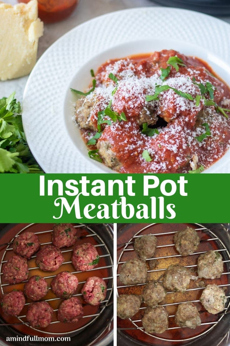 This is the BEST recipe for Instant Pot Meatballs! These Italian style meatballs are full of incredible flavor and are the most tender meatballs you have ever had!