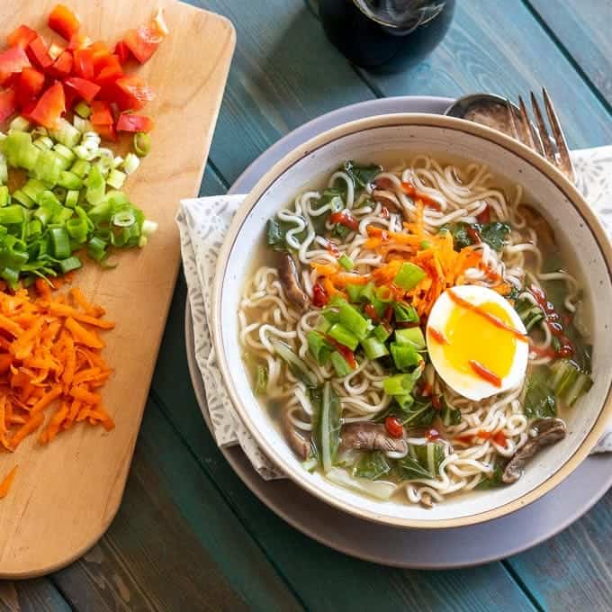 Easy Homemade Ramen Recipe A Mind Full Mom