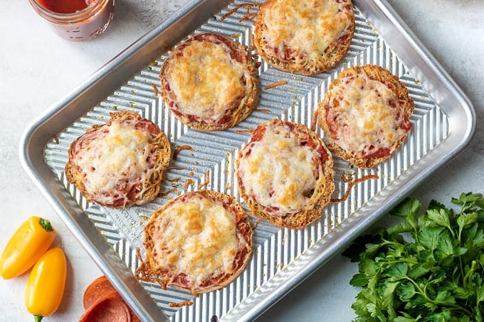 Baked English Muffin Pizzas