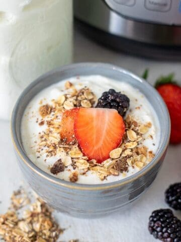Bowl of Cold Start Yogurt