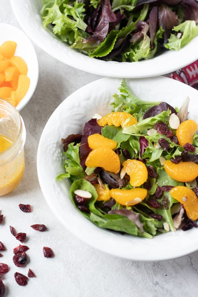Mandarin Orange Salad With Citrus Dressing A Mind Full Mom