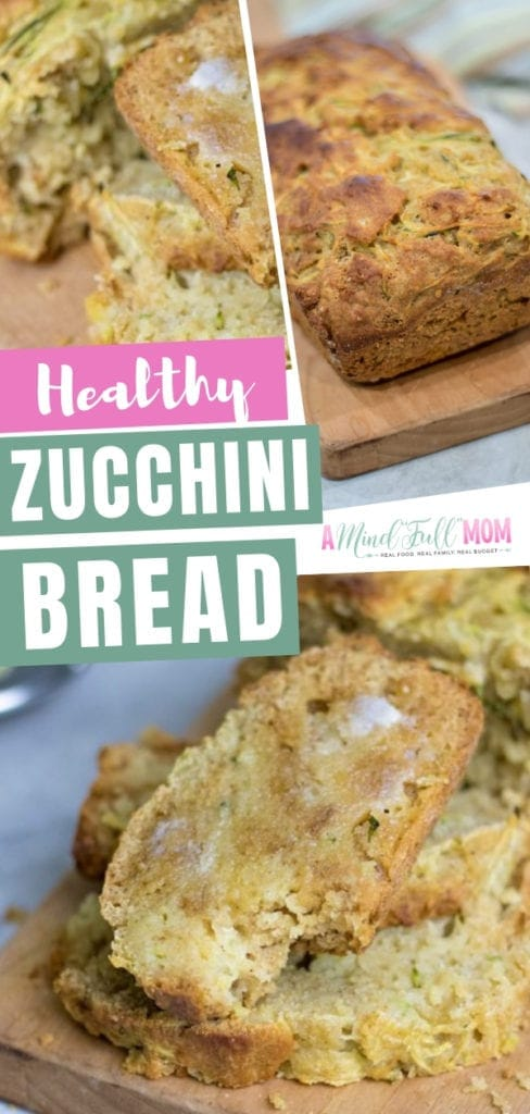 A healthy zucchini bread recipe with pineapple, whole wheat flour, and fresh zucchini! This naturally sweetened and lightened healthy zucchini bread with applesauce is perfect for breakfast, brunch, or snacks. Learn how to make the best zucchini bread!