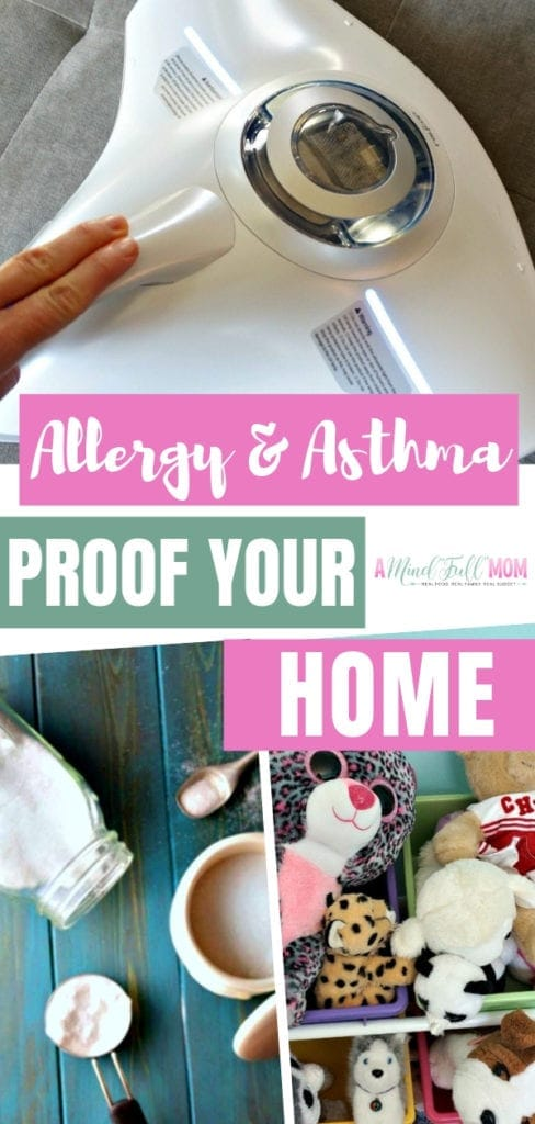 Simple tips to help combat allergens and make your house a safe haven! These strategies will help you breathe easier and keep your allergies, asthma, or sniffles at bay. Save this helpful pin.