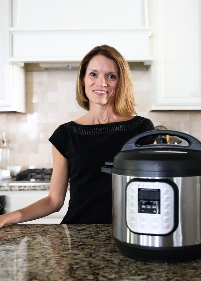 Kristen with Instant Pot