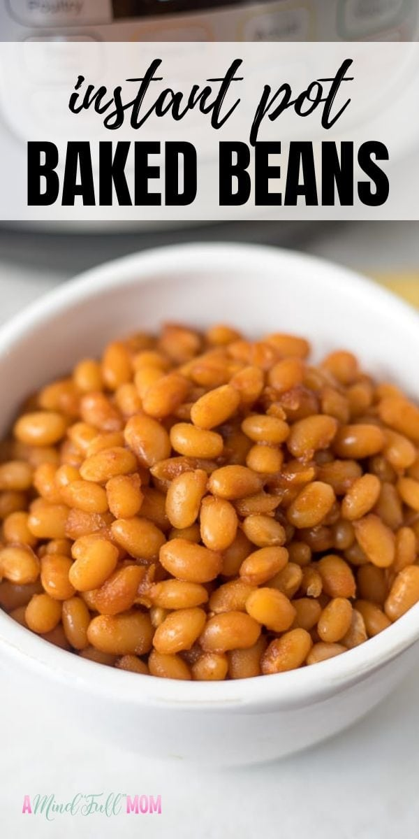 Tested, tried, and true, these Easy Instant Pot Baked Beans are the best! Made with dried beans and a rich maple sauce, these baked beans are irresistible and incredibly easy to make!