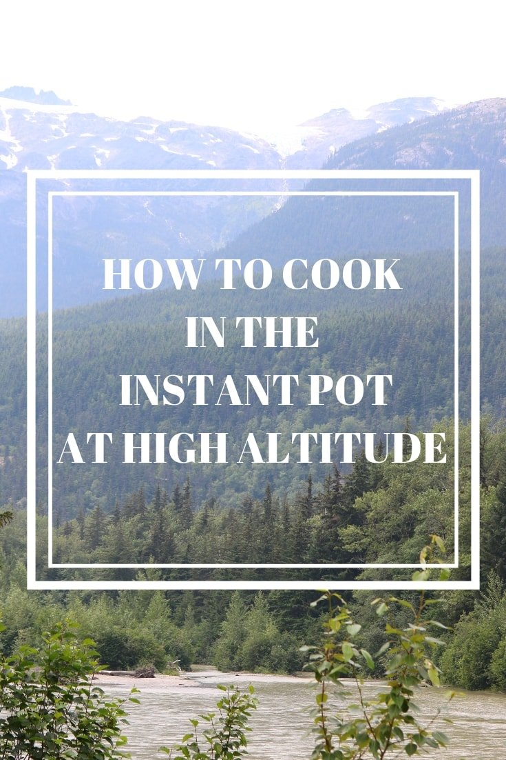 Wondering how to adjust your Instant Pot recipes for high altitude? Grab this printable conversion chart will help you adjust your recipes perfectly so that all your Instant Pot Recipe turn out perfectly!