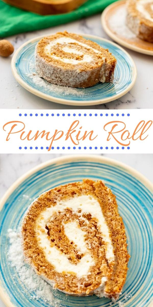 This is the BEST Pumpkin Roll recipe. PERIOD! Modified from Libby's Pumpkin Roll, the changes that have been made are for the better! This pumpkin roll with cream cheese swirl is EXACTLY what your fall needs! Perfect for Thanksgiving and Christmas.