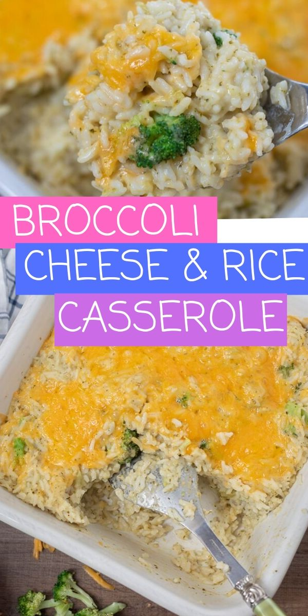 Broccoli Cheese Rice Casserole is a creamy, cheesy, delicious from scratch recipe that is loaded with broccoli. This Broccoli Casserole is easy to make and is absolute comfort food. This Broccoli Casserole made without any canned soups is a perfect side dish for a weekly meal or a holiday side dish.