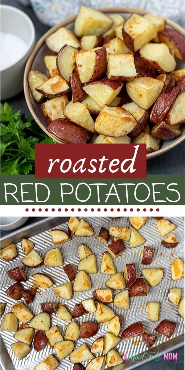 Roasted Red Potatoes make an easy side dish that everyone loves! Follow these simple tips and you will have the BEST Roasted Red Potatoes on the table with minimal effort perfect for weeknight dinners!