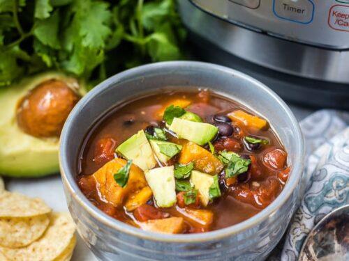 Easy Instant Pot Vegetarian Chili A Mind Full Mom