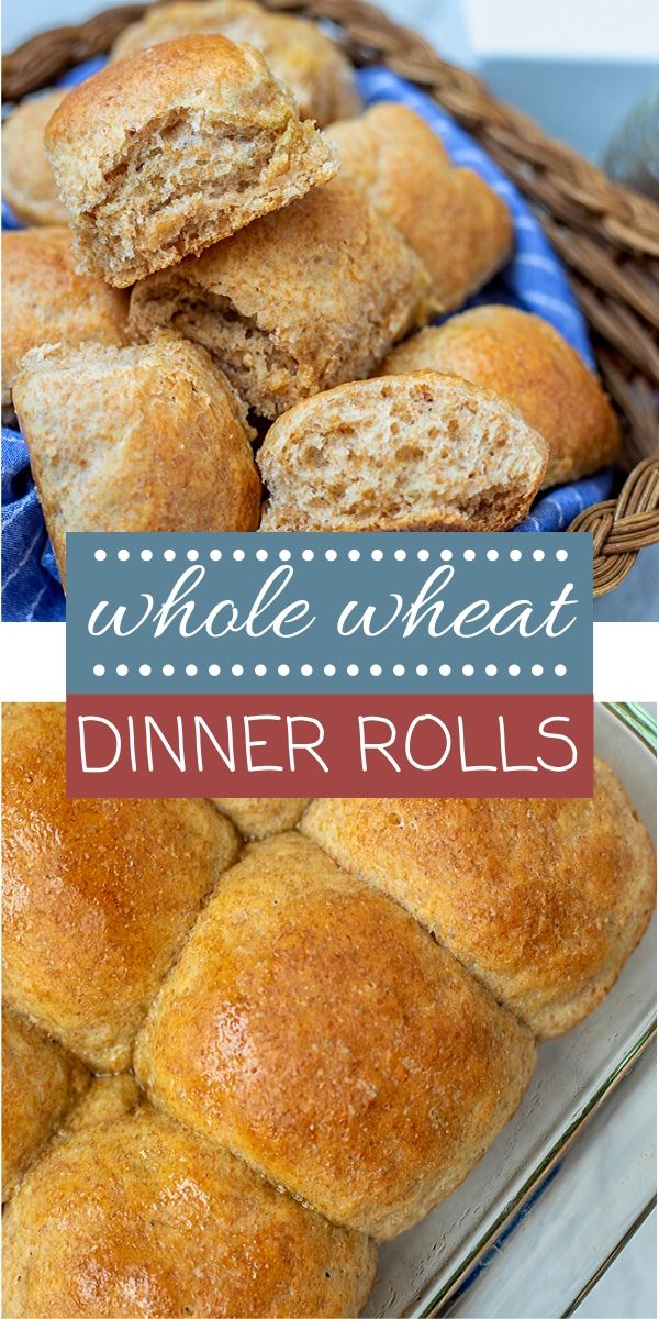 Look no further for soft, fluffy whole wheat rolls! This recipe for homemade rolls is made with 100% whole wheat flour and honey for the most delicious, tender roll. This recipe also happens to be dairy and egg free as well!