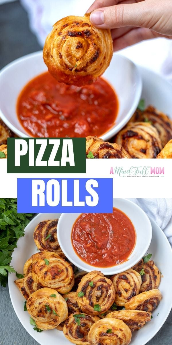 With the help of puff pastry, these pizza rolls come together in no time! Buttery, savory, and cheesy, these simple pizza roll ups are hard to resist! Perfect for parties, game days, or a fun twist on pizza night! Puff Pastry Pizza Rolls are easy to change up based on what you enjoy and are super simple to make. This really is a perfect party appetizer.