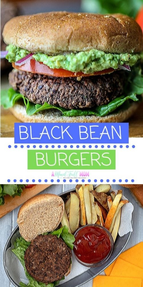 This is the BEST Black Bean Burger recipe! These black bean burgers are an easy, flavorful meatless burger that is not mushy! Made with mushrooms, onions, and perfectly spiced, this is one Veggie Burger that even meat eaters enjoy.