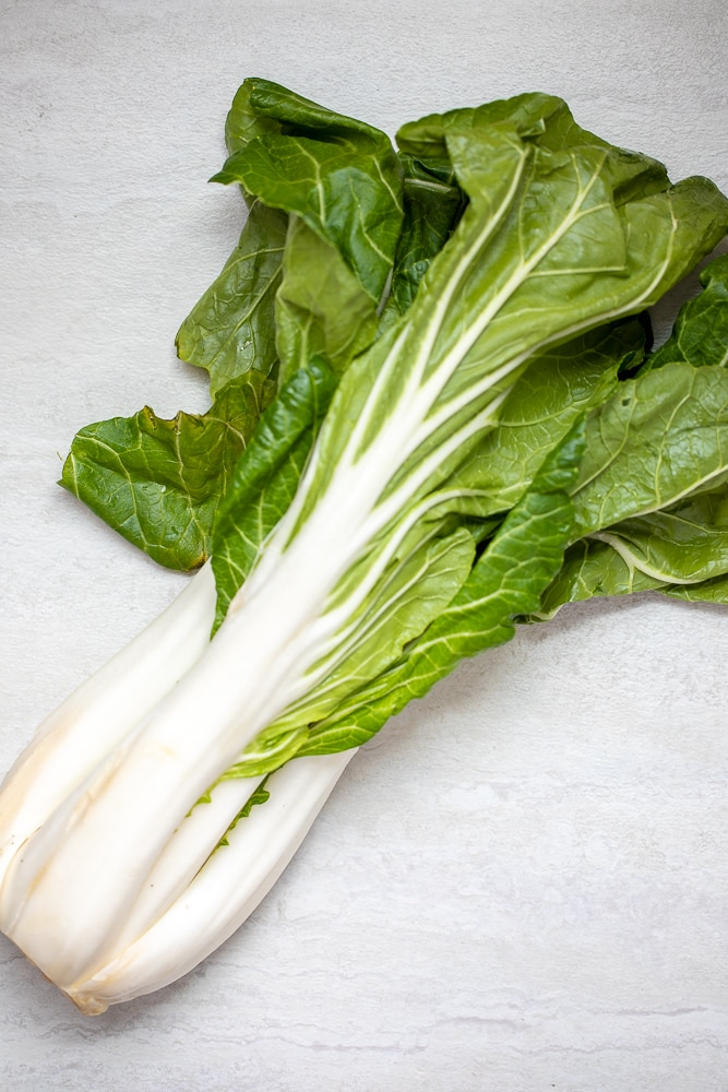 Head of Whole Bok Choy