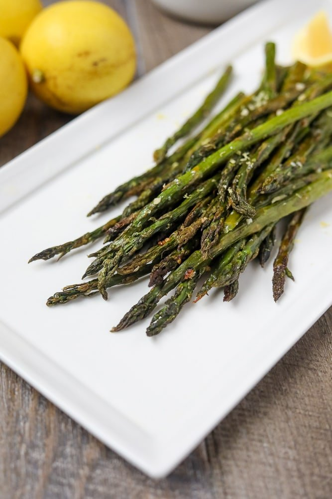The Best Roasted Asparagus Recipe A Mind Full Mom