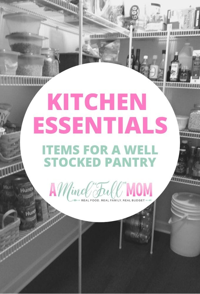 Create inexpensive and quick meals with these affordable food staples. This list of frugal pantry staples will help you make dinner fast and keep your kitchen always stocked with basics your family needs