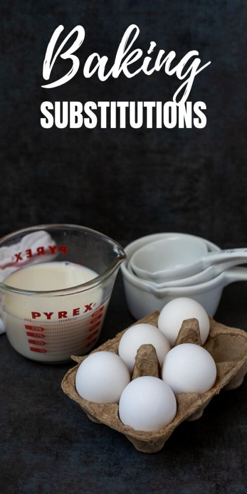When you find yourself without an ingredient for a recipe, don't immediately rush off to the store or forgo making the recipe. Instead, see if you can find a common baking substitution using what you already have on hand.This list of common baking and cooking substitutes will save you a trip the store and keep money in your pocket.