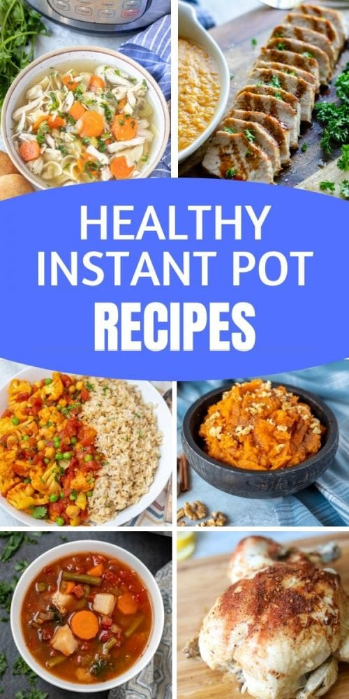 If you are looking for the BEST Instant Pot recipes--this is for you! All of these healthy Instant Pot Recipes are tried and true and have the reviews to prove it! From basic staples, to sides, to appetizers, to main courses, to breakfast,-these are the only Healthy Instant Pot recipe you will need!