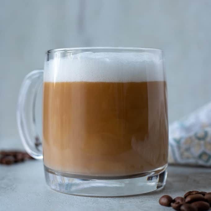 Easy Homemade Latte No Fancy Equipment A Mind Full Mom