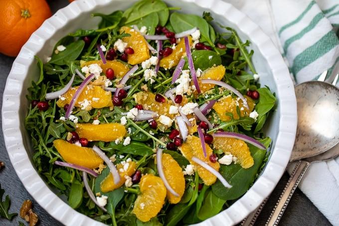 Bowl of Christmas Salad
