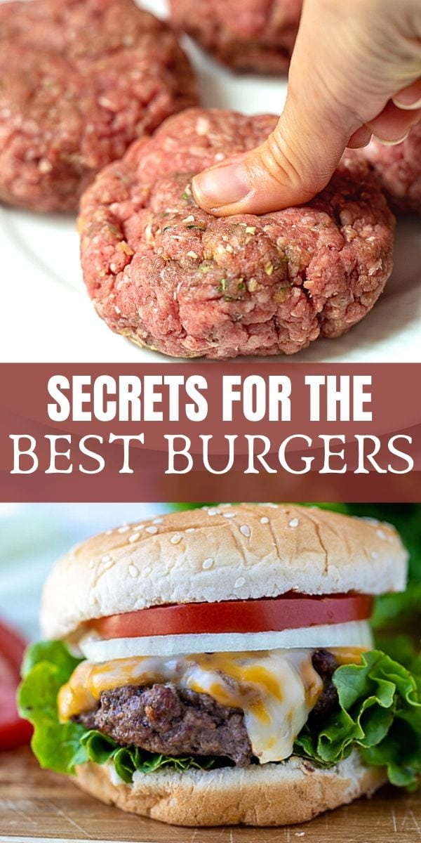 If you are looking for the Best Homemade Burgers, this recipe is for you! With only a few ingredients and minimal prep work, you can have the best juicy, flavorful homemade burgers thanks to a few key pro-tips.