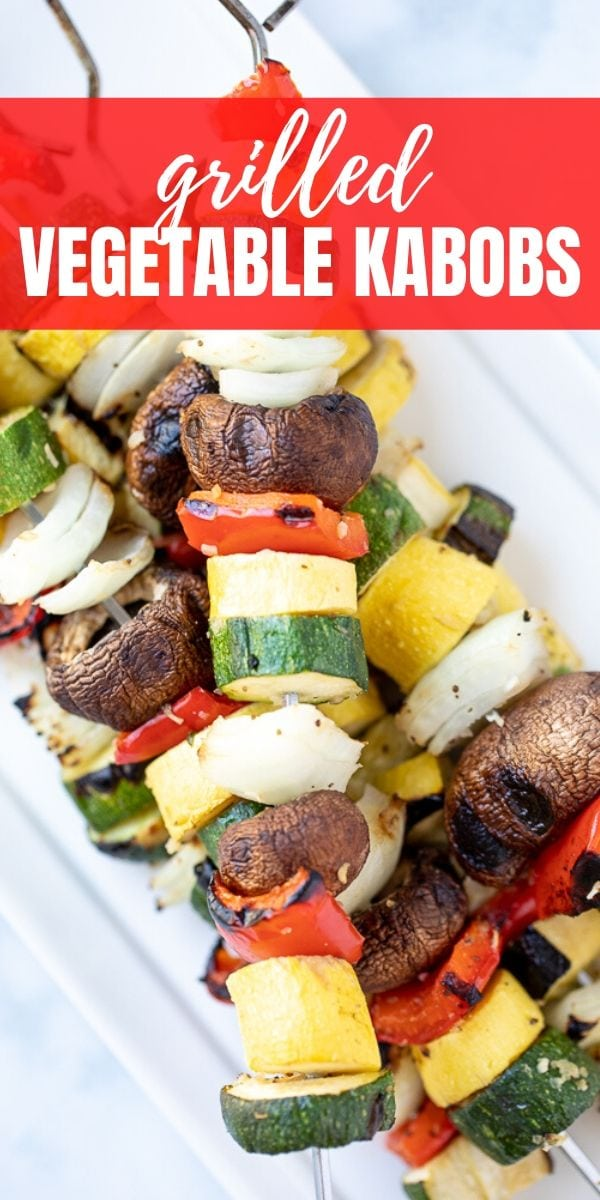 Grilled Vegetable Kabobs are an easy, flavor-packed way to enjoy fresh vegetables. Made with a simple marinade and a variety of summer vegetables, Veggie Shish Kabobs make a delicious side dish to any summer meal.