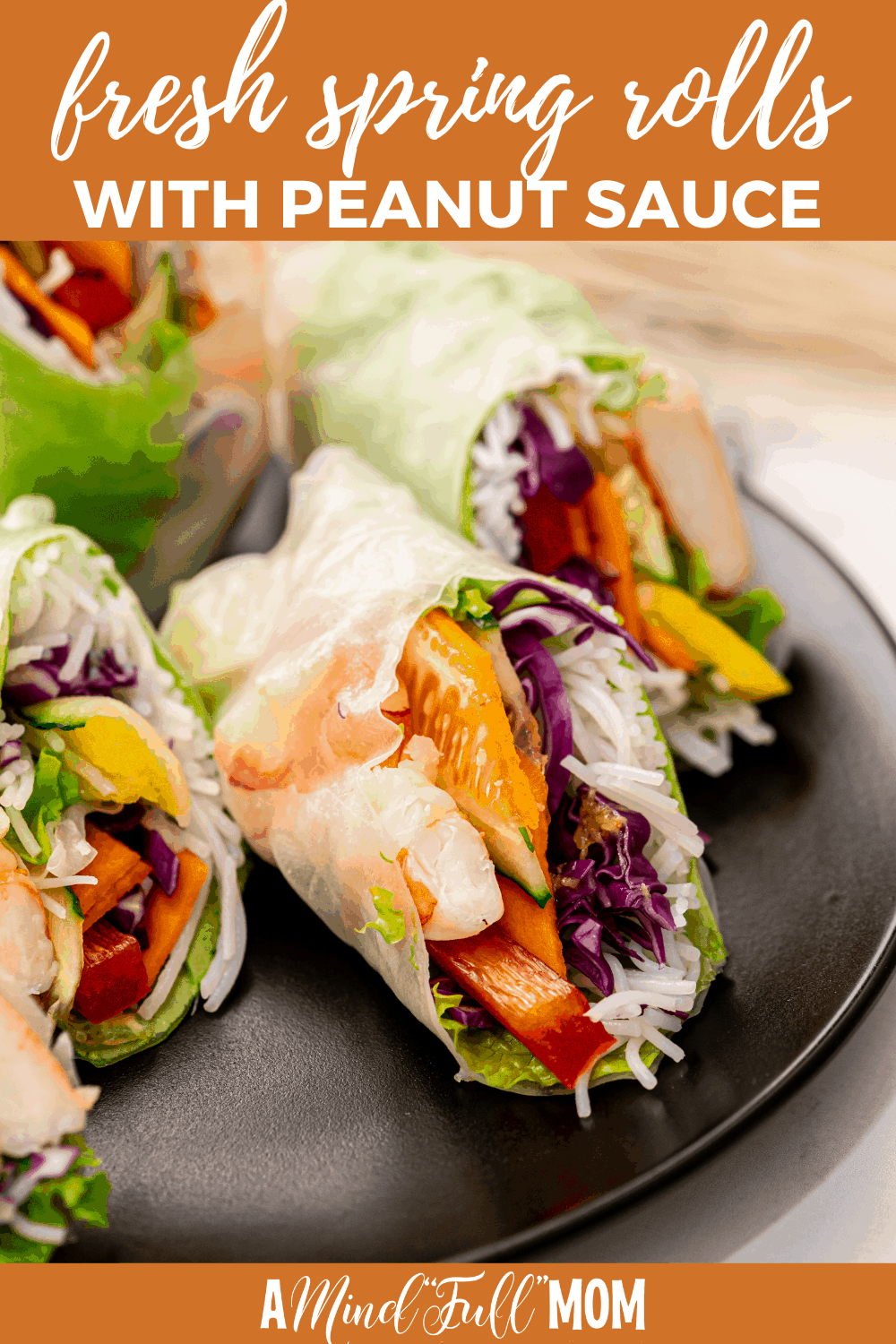 Made with shrimp, fresh vegetables, sweet mangoes, and a delicious peanut dipping sauce, these Vietnamese Spring Rolls are fresh and light instead of being deep-fried and heavy.