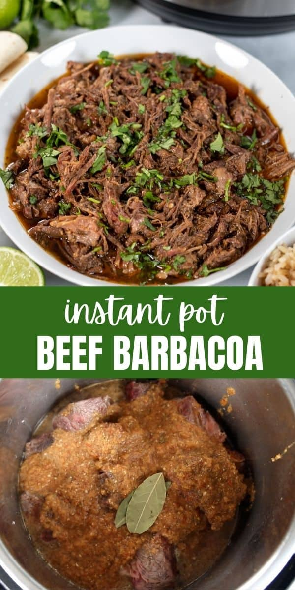 Instant Pot Beef Barbacoa is an authentic recipe for a classic Mexican recipe made fast thanks to the Instant Pot with a perfectly spiced sauce and tender chuck roast. This EASY recipe for Beef Barbacoacreates the most flavorful shredded beef that is perfect served overtortillas or rice.